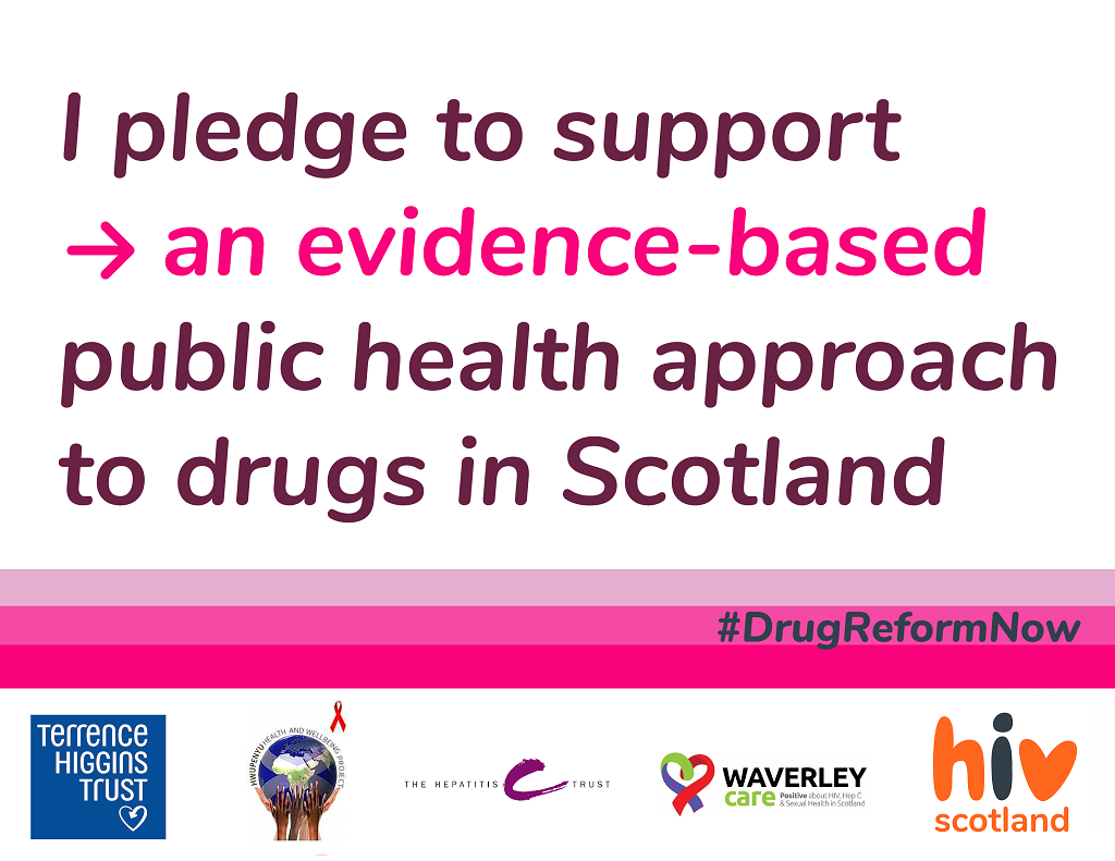 #DrugReformNow Pledge